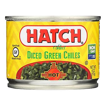 Hatch Nakrájené Zelené Chiles Hot