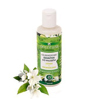 Ayurvedic Hair Shampoo Jasmine & Indian Almond, 210 Ml