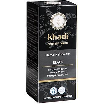 Khadi Kruidenkleur Zwart 100 gr