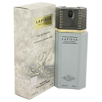 LAPIDUS by Ted Lapidus Eau De Toilette Spray 3.4 oz / 100 ml (Men)