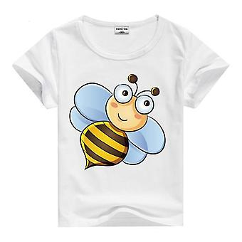 Summer Cotton Short Sleeve T-Shirt, Bee, Infant