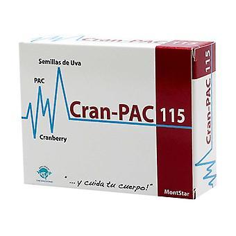 MontStar Cran-Pac 115 45 kapslar