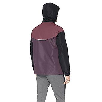 Peak Velocity Men's Zephyr Windbreaker Loose-Fit Jacket, noir/ombre violet/...