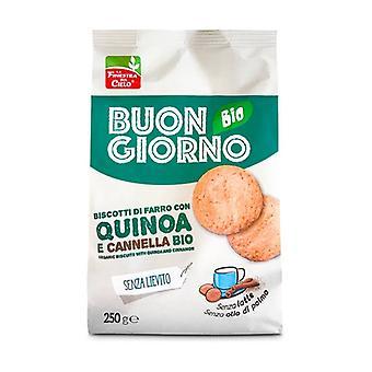 Unleavened Quinoa and Cinnamon Spelt Cookies 250 g