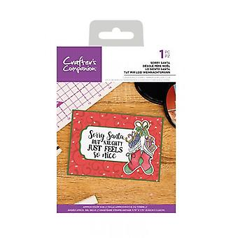 Crafter's Companion Clear Stamps - Lo siento Santa