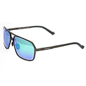 Raza Fornax aluminio polarizado gafas de sol - marrón-verde