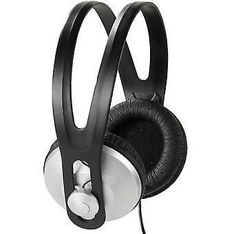 Vivanco SR 97 Hi-Fi On-ear headphones On-ear Black, Silver