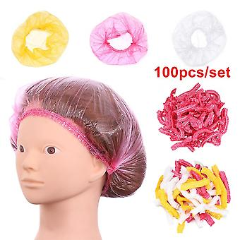 Waterproof Anti Dust Disposable Hair Spa Shower Cap Women