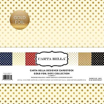 Carta Bella Gold Foil 12x12 Inch Collection Kit