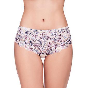 Susa Latina 684-379 Women's Skin-Print Floral Lace Full Brief