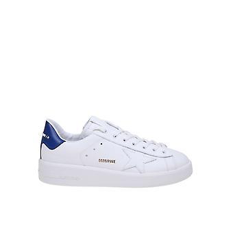 Goldene Gans Gmf00124f00053910237 Herren's Sneakers aus weißem Leder