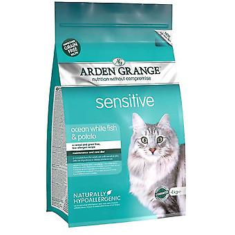 Arden Grange Grain Free Cat Sensitive With Fresh Fish & Potato - 4kg
