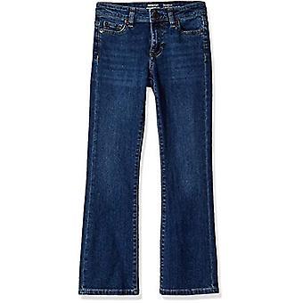Essentials Big Girls' Boot-Cut Jeans, Houston/Medium,10