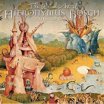 The Weird Art of Hieronymus Bosch Wall Calendar 2021 Art Calendar by Created by Flame Tree Studio
