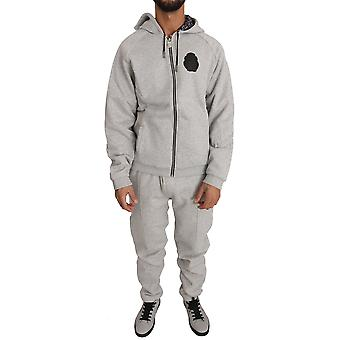 Gray Cotton Sweater Pants Tracksuit BIL1028-1