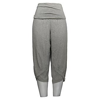 AnyBody Women's Petite Pants Petite Cozy Knit Harem Pant Gray A377770