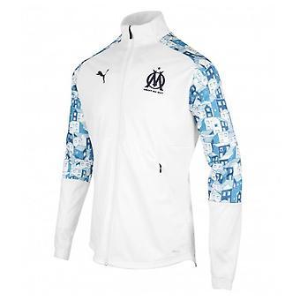 2020-2021 マルセイユ・スタジアム・ジャケット(白)
