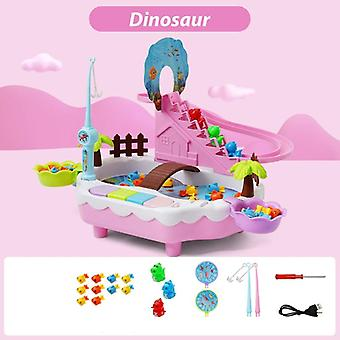 Infant Shining Magnetic Kids Electric Fishing Toy 2-3 Years Boys Girls - Magnetic Fishing Suit Fishing Game For Children