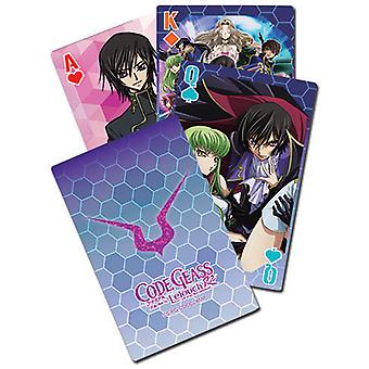 Playing Cards - Code Geass - Big Group New Licensed ge51674