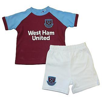 West Ham United FC Baby Kit póló és rövidnadrág szett | 2020/21