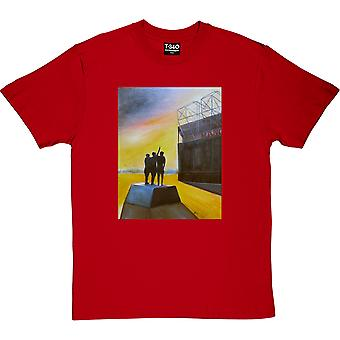 Hadrian Richards Old Trafford Red Men's T-Shirt