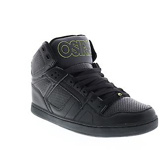 Osiris NYC 83 CLK Mens Black Synthetic Skate Inspired Sneakers Shoes