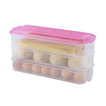 Kitchen practical vegetable and fruit storage airtight container, food packaging box