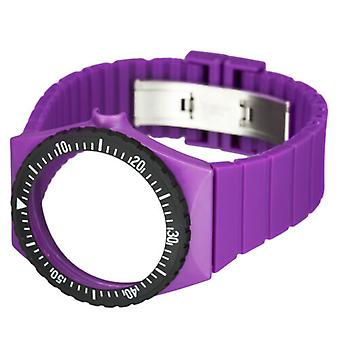 Fortis Colors C 14 24 -mm Purple Silicone Watch Strap