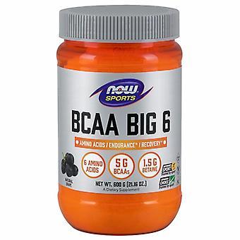 Jetzt Lebensmittel BCAA Big 6, Traubengeschmack 600 Gramm