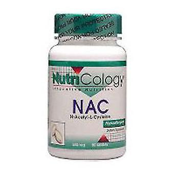 Nutricology/ Allergy Research Group N-Acetyl Cysteine, 120 Tabs