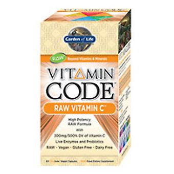 Garden of Life Vitamin Kod, Raw Vitamin C 60 Caps