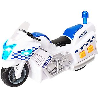 Teamsterz Small Light and Sounds Police Motorbike