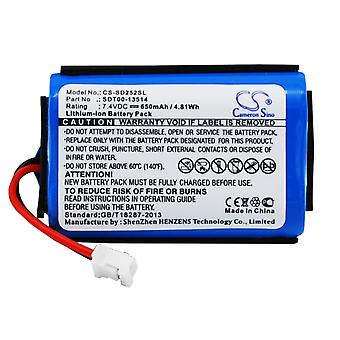 Battery for Sportdog SAC00-13514 SDT00-13514 ProHunter 2525 SD-2525  ST101-SP