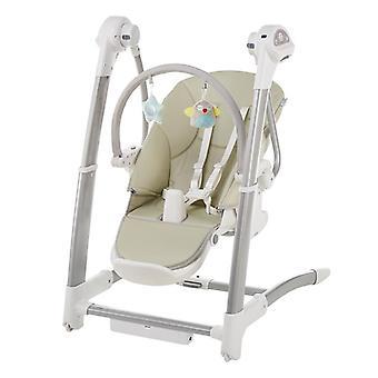 Baby Dining Gungstol, Elektrisk gunga sova multifunktion justerbar