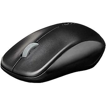 Rapoo 1620 2.4GHz Wireless Optical Mouse Black