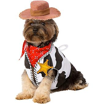 Disney Halloween Fancy Dress Pet Costume - Toy Story Woody