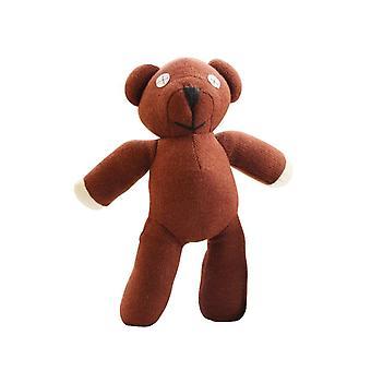 Pán Bean Teddy Bear zviera plnené, mäkké karikatúra, hnedá postava bábika hra