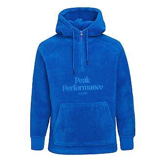 Peak Performance Mens Original Pile Zip Hoodie