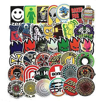 100pcs Random No Repeat Classic Fashion Style, Graffiti Stickers (100pcs)