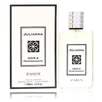 Julianna noir & pomegranate eau de parfum spray (unisex) by zaien 553441 100 ml