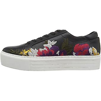 Kenneth Cole New York Women's Abbey 2 Platform LACE UP Sneaker Embroidered