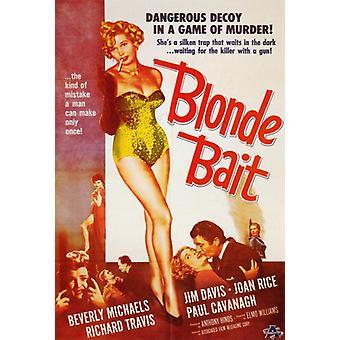 Blonde Bait Movie Poster Print (27 x 40)