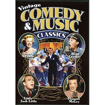 Vintage Comedy & Music Classics [DVD] USA import