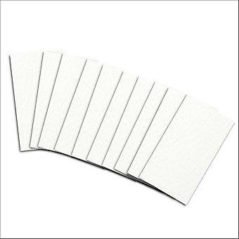 10 quarzo pearlescent kort innsatser for mini lomme (liten)