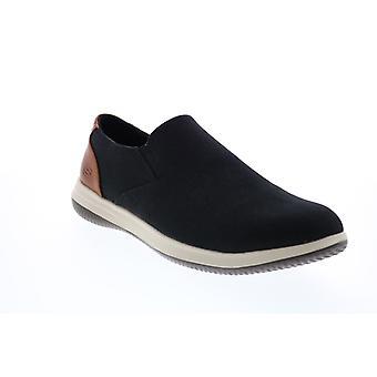 Skechers Darlow Grenado Herren Schwarz Loafers & Slip Ons Casual Schuhe