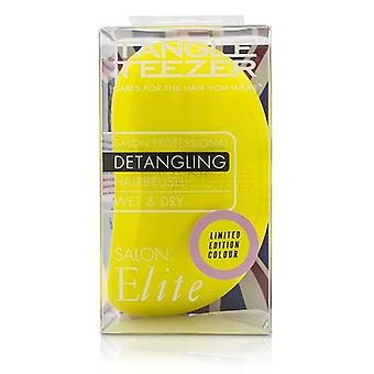 Tangle Teezer Salon Elite Professional Detangling Hair Brush - # Lemon Sherbet (For Wet & Dry Hair) 1pc