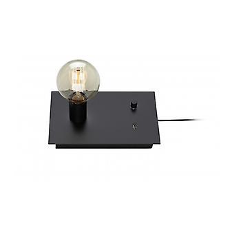 Tischlampe Load Black 1 Bulb