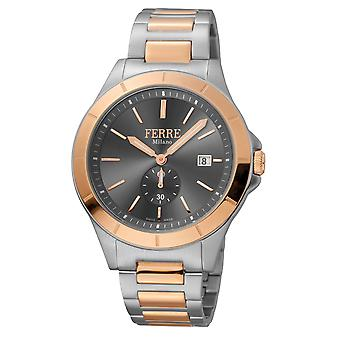 Ferre Milano FM1G080M0081 Men's Champagne Dial Stainle Steel  Watch