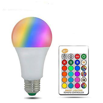 kan dimmes E27 led lampe -rgb Wifi smart pære