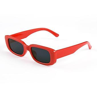 Marca de luxo Pequeno Retângulo Vintage Retro Oculos Óculos de Sol/mulheres